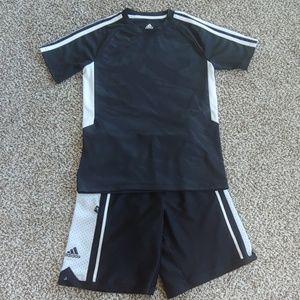 Adidas Boys Shirt & Shorts